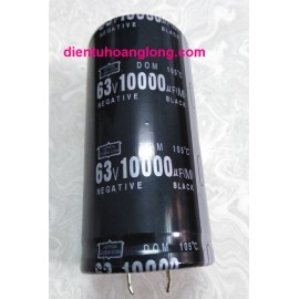 Tụ 10000uF 63V Neagtive mới